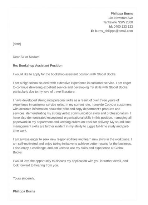 cover letter examples for resume for high school students high school student cover letter samples resumes - Cover Letter For High School