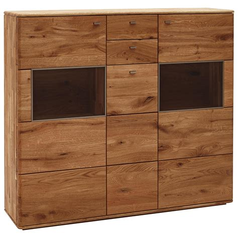 Highboard Eiche Massiv