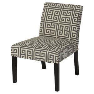 Highwoods Geometric Slipper Chair