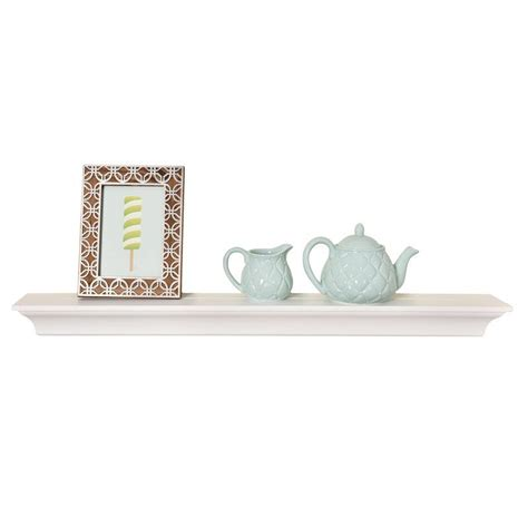 Hillery Crown Molding Wall Floating Shelf