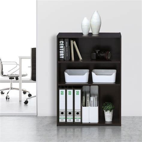 Hinshaw 3-Shelf Standard Bookcase