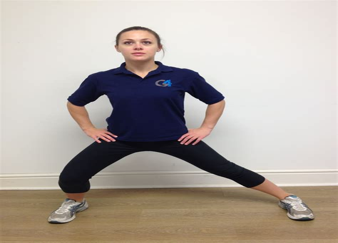 hip adductor stretches yoga