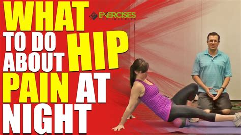 hip and back pain only at night