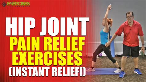 hip exercises for pain youtube three