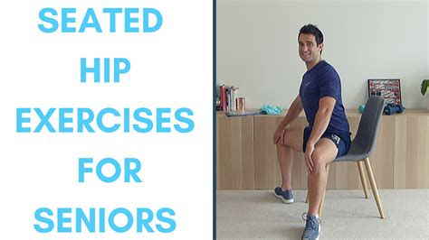 hip exercises for seniors in chair