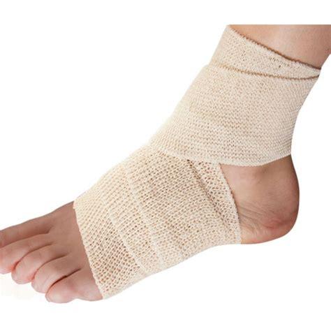 hip flexor ace bandage wrapping knee