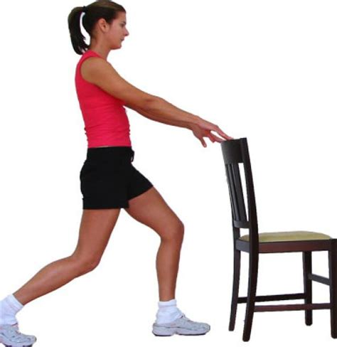 hip flexor chair stretch exercises before running