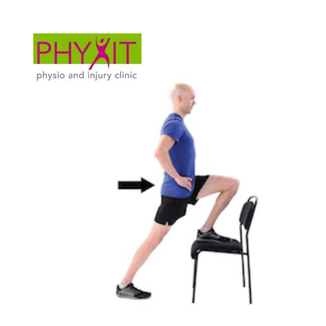 hip flexor chair stretches and exercises