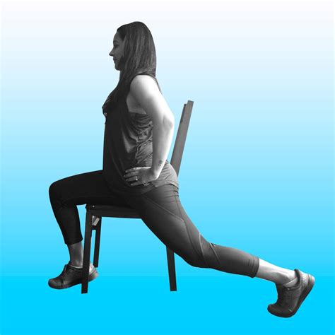 hip flexor chair stretching meditation