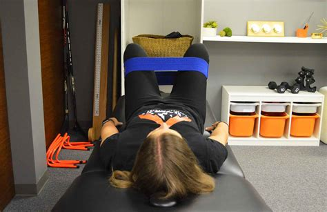hip flexor exercise illustrations hook-lying positional vertigo