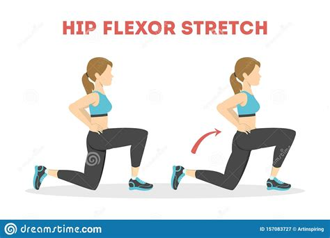 hip flexor exercise images thanksgiving cartoon