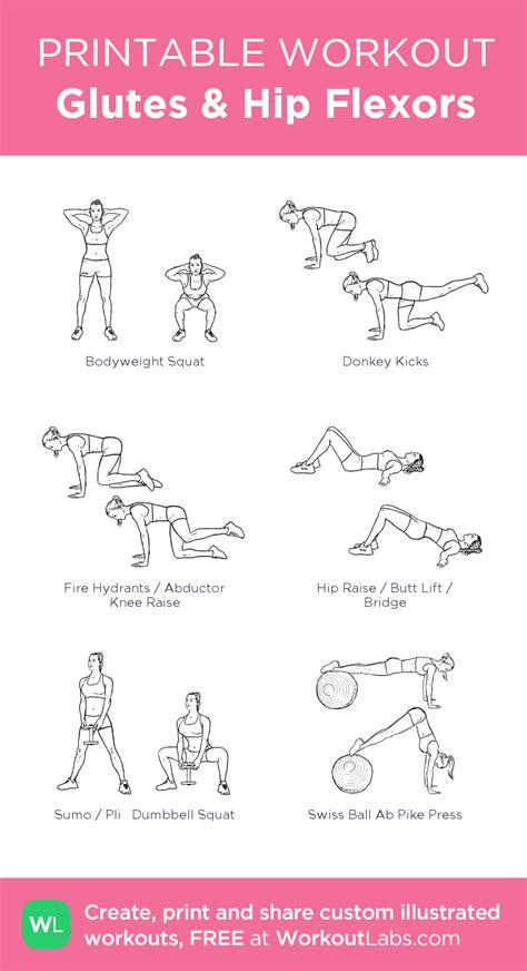 hip flexor exercises and stretches pdf merge download