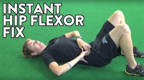 hip flexor exercises for hockey kevin