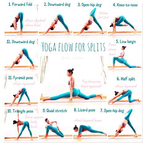 hip flexor flexibility stretches splits diagrams of the human