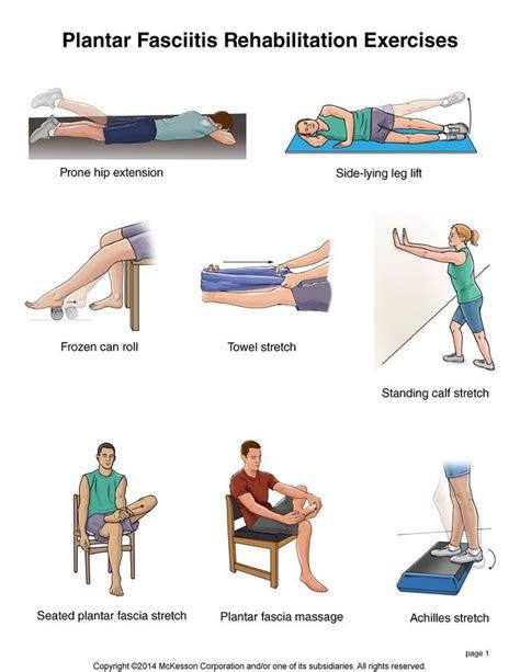 hip flexor injury pt exercises for plantar fasciitis