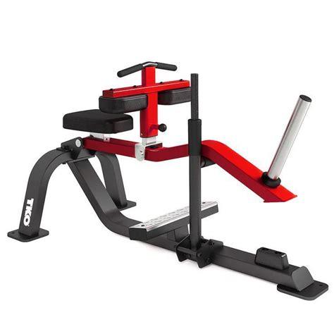 hip flexor machine standing calf raise