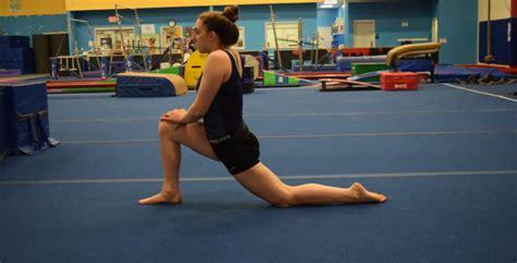 hip flexor massage for gymnasts leotard rips