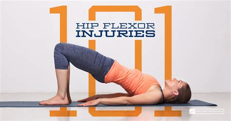 hip flexor muscle strains and sprains and where they happened