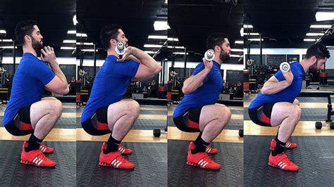 hip flexor pain after squats video with bar