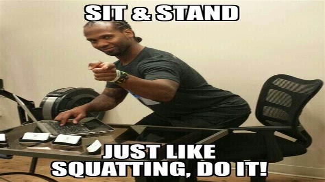 hip flexor pain from squats meme images harsh