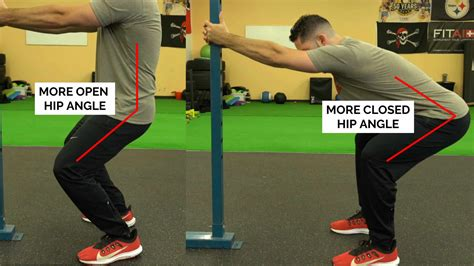 hip flexor pain from squatting position for pushing