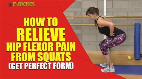 hip flexor pain olympic squats