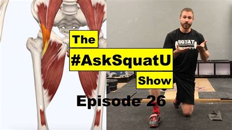 hip flexor pop while squatting birth