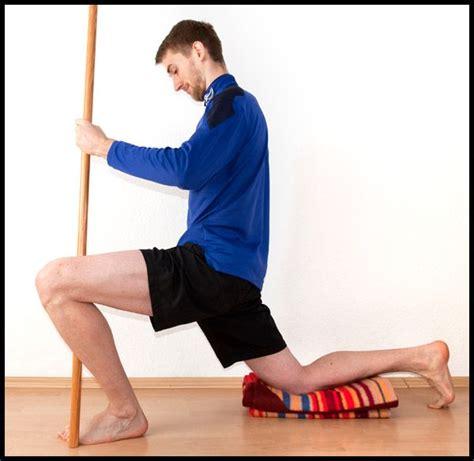 hip flexor psoas release stretches for plantar flexion
