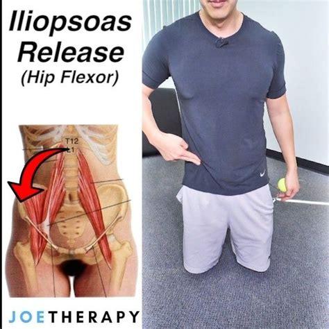 hip flexor psoas release techniques book