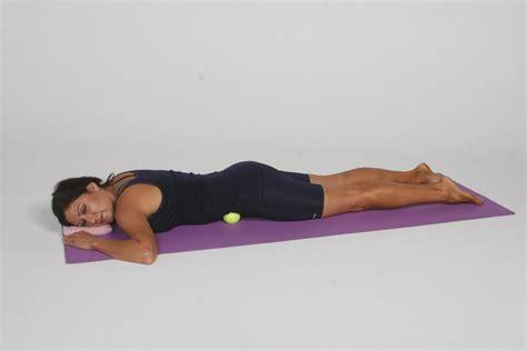 hip flexor psoas release with ball