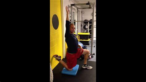 hip flexor strain popping zits video pop