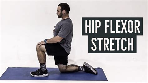 hip flexor stretch and youtube how to play