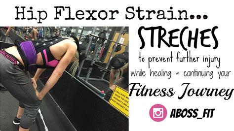 hip flexor stretches hip flexor injury wraps for cars