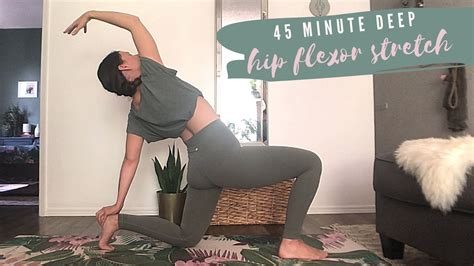 hip flexor stretches yoga youtube relaxation videos for sleep