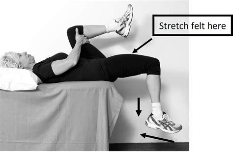 hip flexor stretching program elderly instruments hours in a year
