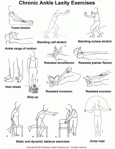 hip flexor tightness exercises to strengthen ankles after a sprain
