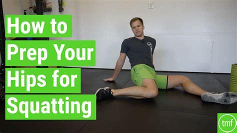 hip flexor tightness squat