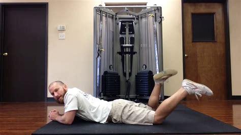 hip flexor tightness test prone hip internal and external rotation