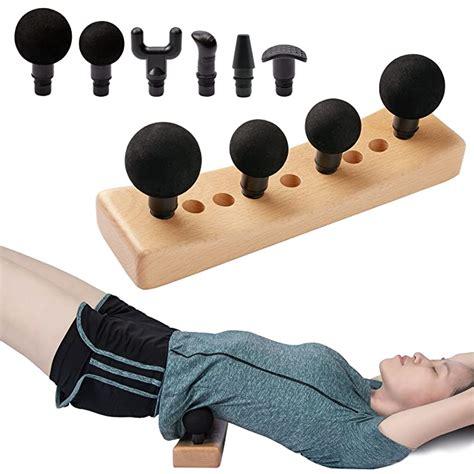 hip flexor trigger point release massage blocks used for massage