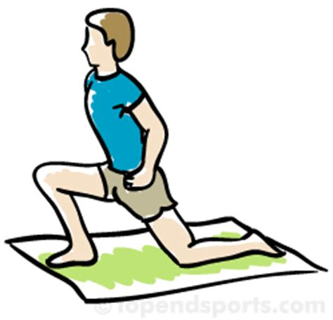 hip flexors stretches and exercises for hurdles clipart free