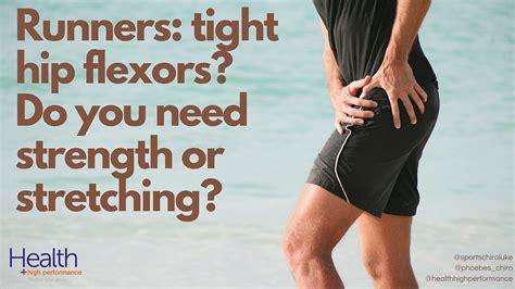 hip flexors tight after running