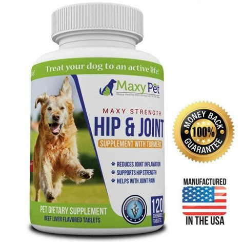 hip joint pain relief for dogs