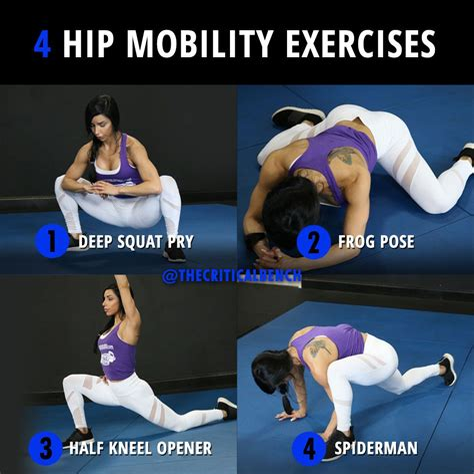 hip mobility exercises pdf
