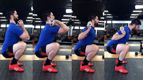 hip muscle pain after squats