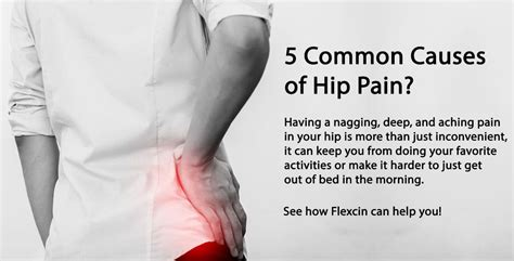 hip pain causes back pain