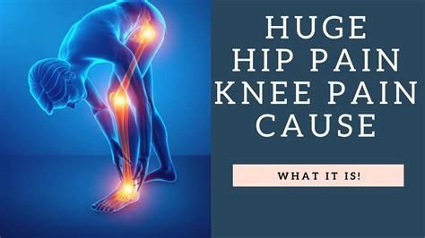 hip pain causes knee pain