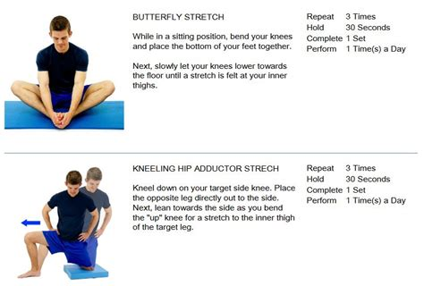 hip pain when stretching adductor muscles