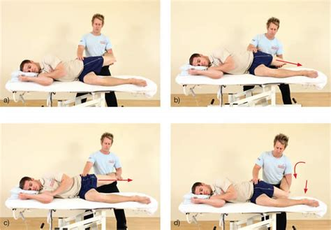 hip snapping hurts with hip flexion contracture test de velocidad