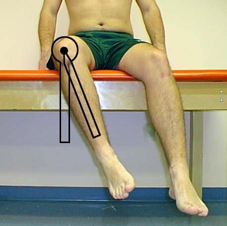 hip snapping hurts with hip flexion goniometry ankle e