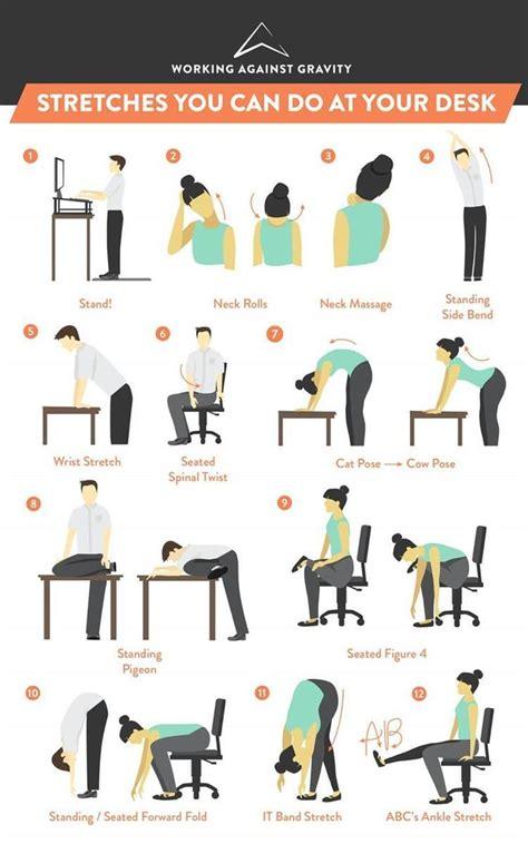 hip stretch yoga pose at desk